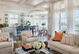 Kitchen Family Room Designs Living Room Open Concept Kitchen Family Room Interiors Dining