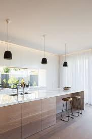 Black Galley Kitchen - galley kitchen ideas for a scandinavian kitchen with a black