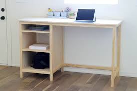 Diy Built In Desk Diy Counter Height Desk With Storage Addicted 2 Diy