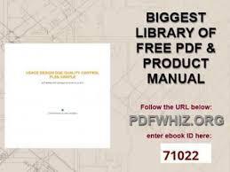 usace design dqc quality control plan sample youtube