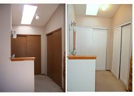 How To Build A Sliding Closet Door Remodelaholic Frugalicious Closet Door Makeover Monthly Contributor