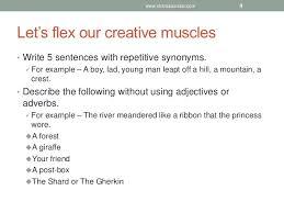 creative writing yr 7
