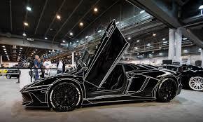 Lamborghini Aventador All Black - an inspired black lamborghini aventador at the houston auto show 2016