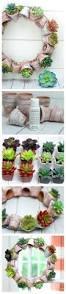 planters diy succulent container garden wall planter living diy
