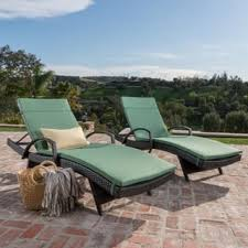 Outdoor Reclining Chaise Lounge Outdoor Chaise Lounges Shop The Best Deals For Dec 2017