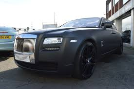 wrapped rolls royce second hand rolls royce ghost 4dr auto for sale in wednesbury