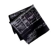 blueprint pocket square cass tech detroit u2013 cyberoptix tielab