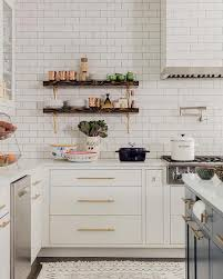 painted white flat panel kitchen cabinets design trend 2018 flat front cabinetry becki owens