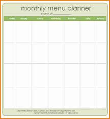 10 blank menu template cashier resume