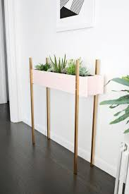 plant stand standing planter plansstanding box plans wood diy