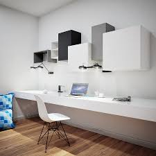 38 wall mounted bookshelves for office kube four section shelf