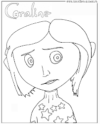 coraline coloring pages creativemove me
