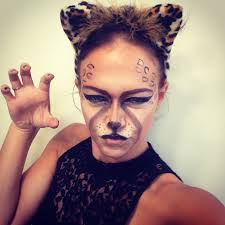 cheetah halloween makeup youtube