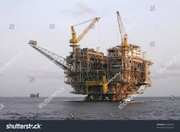 oil rig platform off coast angola stock photo 45363307 shutterstock
