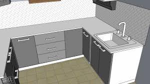 modular kitchen 3d design porur zenterior youtube