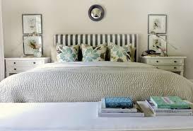 cavallini frames striped headboard transitional bedroom ralph barn owl