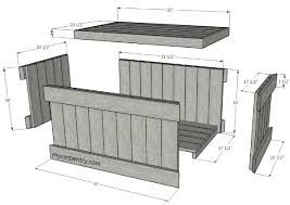 Making A Toy Box Plans by Best 20 Wood Chest Ideas On Pinterest Pallet Chest Pallet Toy