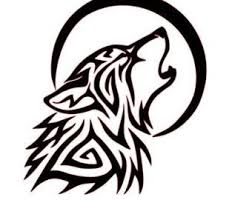wolf howling at the moon tribal powerdnssec