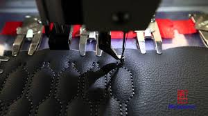 Upholstery Car Seats Melbourne Automatic Pattern Sewing On Car Seat Cover With Richpeace Heavy