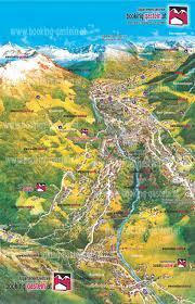 Bad Gastein Skigebiet 3d Ortsplan Bad Gastein