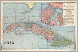 Map Cuba Map Of Cuba David Rumsey Historical Map Collection