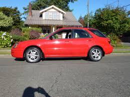 red subaru 2005 subaru impreza wagon awd auto sales