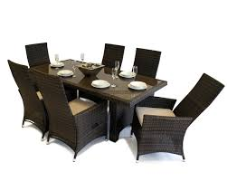 rattan kitchen furniture dining room rattan dining sets home design ideas