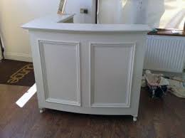 Salon Reception Desk White Style Shabby Chic L Shape Reception Desk Retail Desk