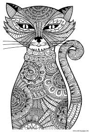 print cat coloring pages awesomeness pinterest cat