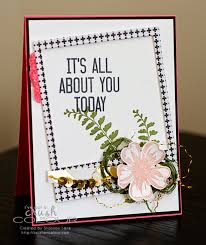 crush on colour it u0027s all about you girly modern birthday card