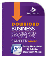 sample business policies and procedures