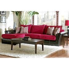 Klaussner Bedroom Set Klaussner Cordova Sectional Sofa In Cinnabar Microsuede For