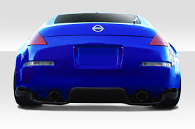 nissan 350z wont start 03 08 fits nissan 350z ts 1 duraflex rear bumper lip body kit