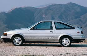 toyota corolla 1985 1985 toyota corolla gt s hatchback cars today
