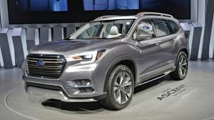 subaru subaru 2018 subaru subaru will reveal the ascent 3 row crossover at