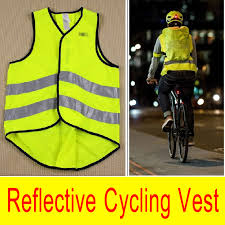 fluorescent cycling jacket brand new night fluorescent cycling vest reflective jersey road bike