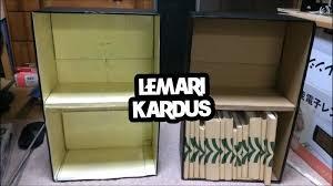 cara membuat lemari buku dari kardus bekas anekaragam furnitur unik dari bahan bekas prelo blog tips review