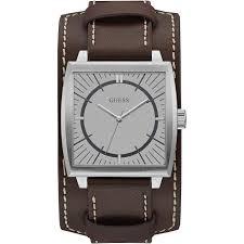 bracelet guess homme images Montre guess w1036g2 montre bracelet cuir marron homme sur jpg