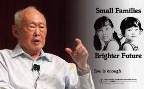 Lee Kuan Yew Meme - lee kuan yew low replacement rate due to economic development