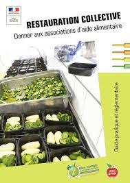 aide cuisine collectivité calaméo un guide réglementaire et pratique des dons de la
