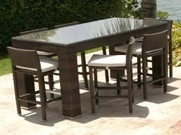 High Bistro Table Patio Ideas Outdoors Bistro Table And Chairs Tall Patio Bistro