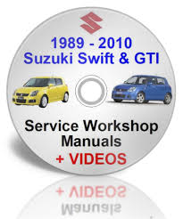 1989 2010 suzuki swift workshop manual plus videos dvd ebay