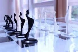 Futuristic Chess Set 3ders Org Lucian Popescu U0027s Amazing 3d Printed Pandov Chess Set