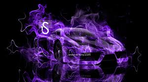 purple ferrari ferrari enzo fire abstract car 2013 el tony