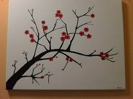 Cherry Blossom Decor 7 Steps To Create A Cherry Blossom Painting Simple Canvas