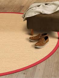 teppich sisal teppich rot rund 160 home design inspiration und interieur ideen