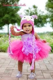 Girls Owl Halloween Costume Baby Toddler Coconut Bra Hawaiian Pixieharmony