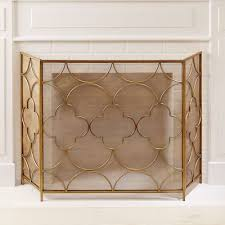 gold fireplace screen from country door 725700