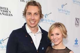 Dax Shepard Kristen Bell Reveals First Picture Of Wedding To Dax Shepard