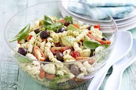 Cold Pasta Salad Recipe Pesto Pasta Salad